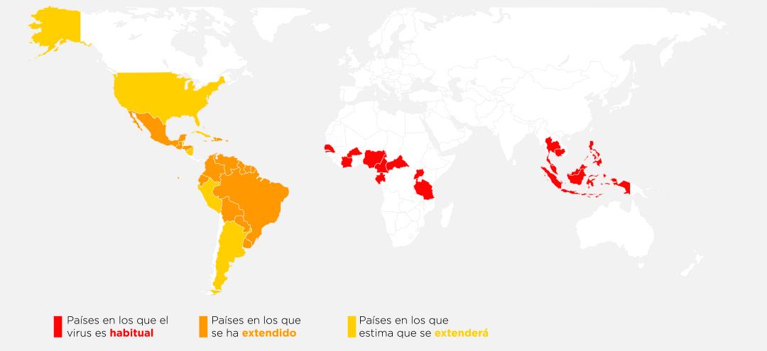 Paises-Riesgos-Zika